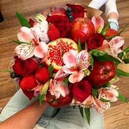 Букеты собрать букет из фруктов и цветов граба лечение где