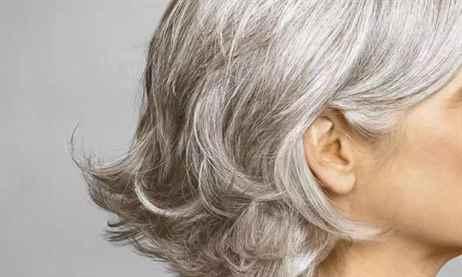 Механизм появления седых волос