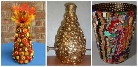 Декор на вазах своими руками