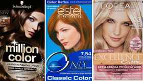 Лучшая безаммиачная краска для волос