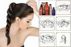 Как самой себе сделать прическу на средние волосы для