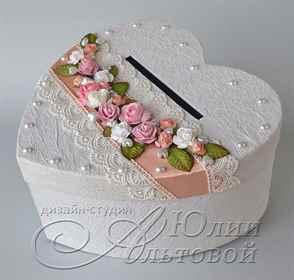 Коробка для даров для свадьбы своими руками 29