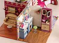 Дом для куклы барби из подручных материалов