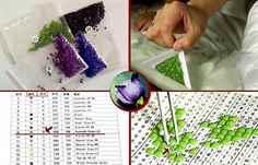 Как пользоваться инструментом для алмазной вышивки