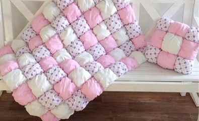 Одеяло бомбонами своими руками 94