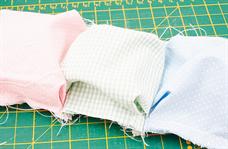 Как сшить ткань с наполнителем