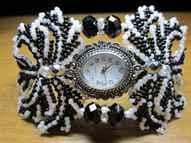 Часы браслет из бисера своими руками