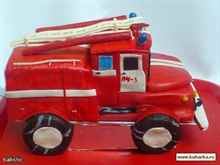 Поделка пожарная машина своими руками фото