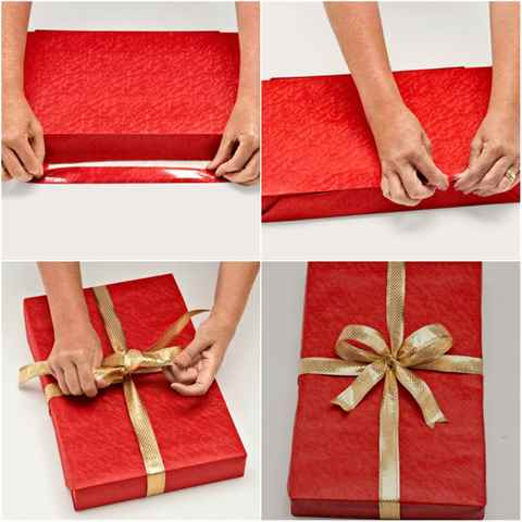 Во что завернуть подарок парню