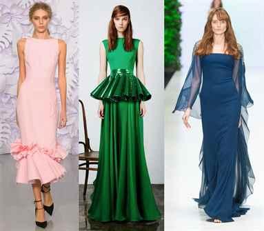 Вечерние платья 2017 года