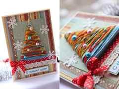 Рождественские открытки своими руками идеи