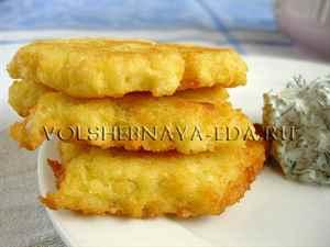 Драники из картошки с капустой рецепт