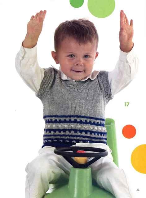 Подборка жилетов для мальчиков, Вязание для детей 73