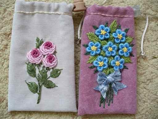 Вышивка рококо с фото 1