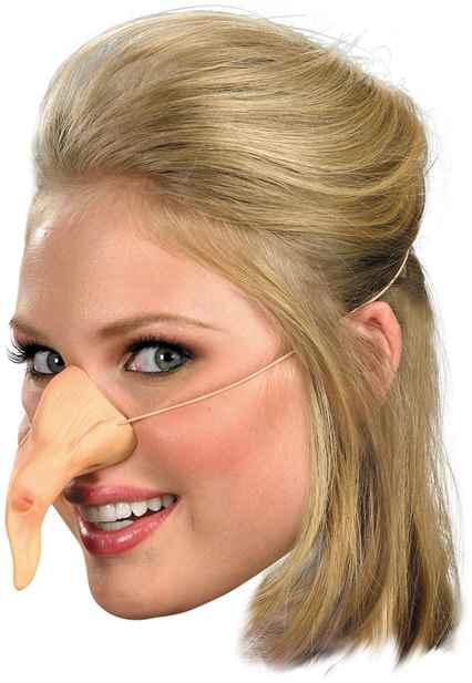 Делаем нос бабы яги своими руками из бумаги