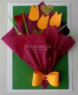Объемные цветы для открыток своими руками 81