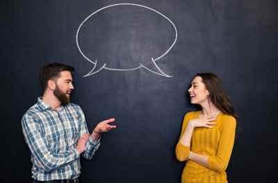 как правильно общаться с женщиной при знакомстве