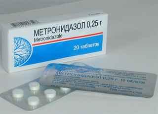 Метронидазол в таблетках при алкоголизме