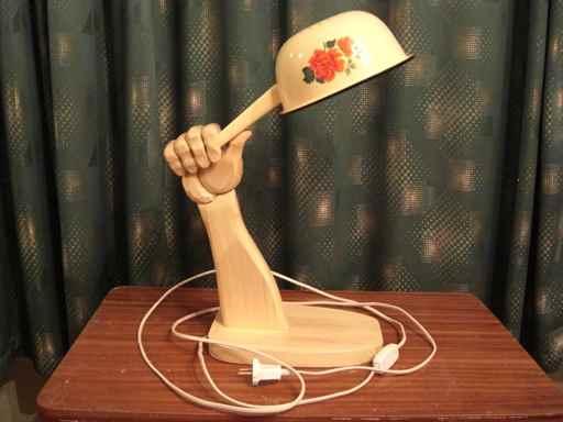 Настольная лампа своими руками: как сделать, абажур, идеи и 21