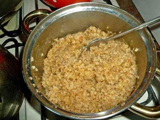 Как варить кукурузную кашу на воде пошагово