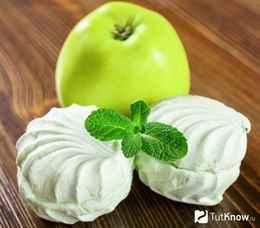 Яблочный зефир в домашних условиях с агаром