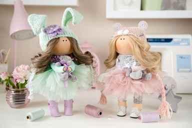 Выкройки интерьерной куклы в натуральную величину распечатать