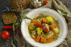 Шулюм из баранины: классический рецепт приготовления.