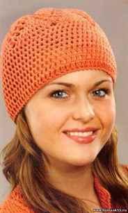вязаные шапки крючком для женщин схема моделей для осени и зимы