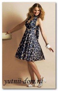 755e991e286 Выкройка платья с завышенной талией