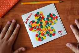 Позитивного, как сделать бабушке на день рождения открытку за 5 минут