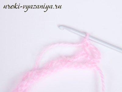 Накидка для девочки крючком