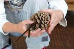 Корзина из природных материалов своими руками
