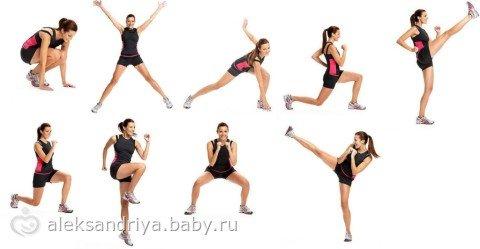 Питание при упражнениях на похудение