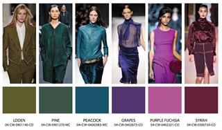 Модная цветовая гамма
