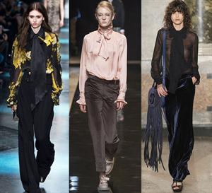 a072227bde3 Блузки  модные тенденции 2018 года с фото  для полных и стройных ...
