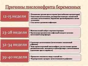 Последствия пиелонефрита при беременности для плода и самой женщины, лечение