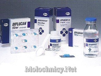 Лекарство Дифлюкан от молочницы