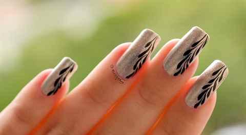 Простые и красивые рисунки на ногтях в домашних условиях