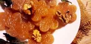 Домашний мармелад из яблок без сахара